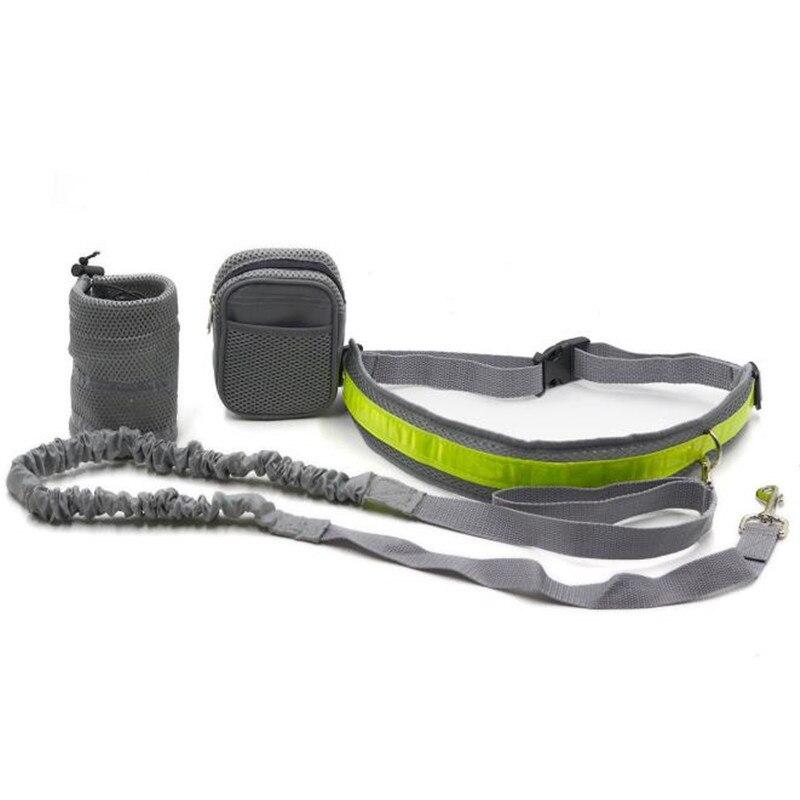 Pet Elastic Belt Running Dog Leash Set Hands Free Dog Leash Collar Pet  accessories Puppy Dog Harness Leash For Animals KO879924 – Grandado
